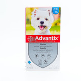 ADVANTIX Spot-On Cani da 4 a 10Kg 4 pipette