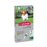 ADVANTIX Spot-On Cani fino a 4Kg 4 pipette