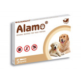 ALAMO SPOT-ON CANI 5 PIPETTE DA 1ML