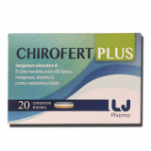 CHIROFERT PLUS 20CPR