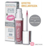ESTETIL Lip Gloss 03 Sweet Rose Idra Volume 6.5 ml