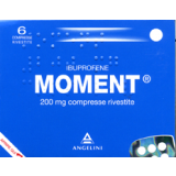 MOMENT 200MG ANTINFIAMMATORIO 6 COMPRESSE
