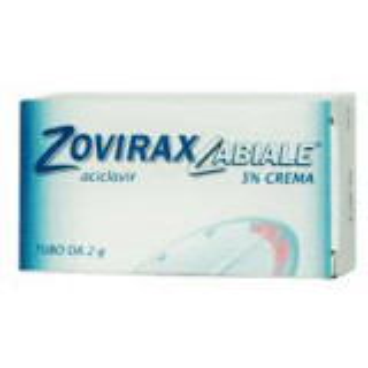 ZOVIRAX LABIALE HERPES CREMA 2 GRAMMI