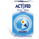 ACTIFED*12CPR 2.5MG+60MG