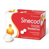 SINECOD TOSSE SED*18PAST 5MG