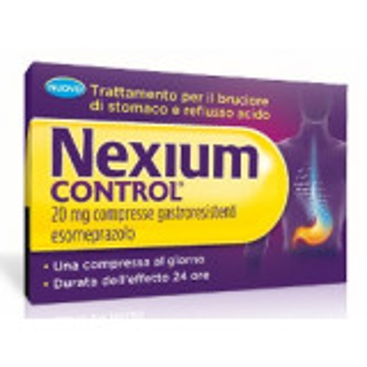 NEXIUM CONTROL 20MG ANTIACIDO 14 COMPRESSE