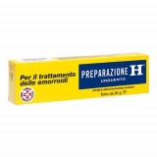PREPARAZIONE H EMORROIDI UNGUENTO RETTALE 50 GRAMMI