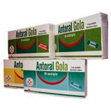 ANTORAL GOLA*20PAST 5MG MIE/LI