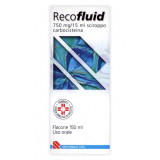 RECOFLUID*SCIR FL 150ML 750MG