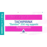 TACHIPIRINA BAMBINI ANTIPIRETICO 250MG 10 SUPPOSTE