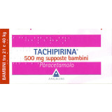 TACHIPIRINA BAMBINI ANTIPIRETICO 500MG 10 SUPPOSTE