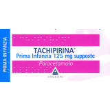 TACHIPIRINA PRIMA INFANZIA 125MG 10 SUPPOSTE
