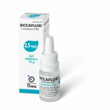 SICCAFLUID*GEL OFT 10G 2.5MG/G