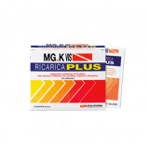 MG.K VIS Ricarica Plus Integratore Gusto Arancia 14bustine
