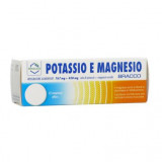 POTASSIO MAGNESIO 12CPR
