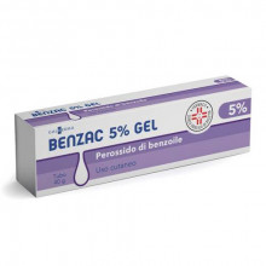 BENZAC*GEL 40G 5%