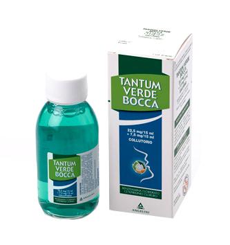 Tantum Verde Bocca Disinfettante Collutorio 240 Ml