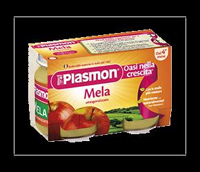 PLASMON (HEINZ ITALIA SpA) Plasmon Omogeneizzato Mela Gr 104x6 Vasetti