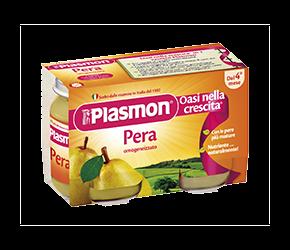 PLASMON (HEINZ ITALIA SpA) Plasmon Omogeneizzato Pera Gr 104x6 Vasetti
