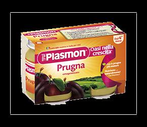 PLASMON (HEINZ ITALIA SpA) Plasmon Omogeneizzato Prugna Gr 104x6 Vasetti