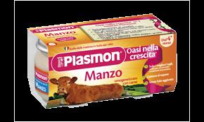 PLASMON (HEINZ ITALIA SpA) Plasmon Omogeneizzato Manzo Gr 80x4 Vasetti